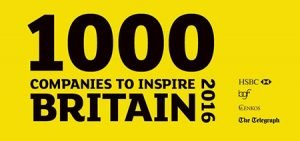 100 Companies to Inspire Britain banner
