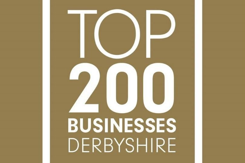 Top 200 Businesses in Derbyshire logo