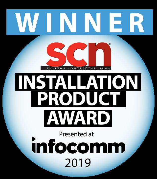 SCN Awards, Installation Product Award 2019 winner logo
