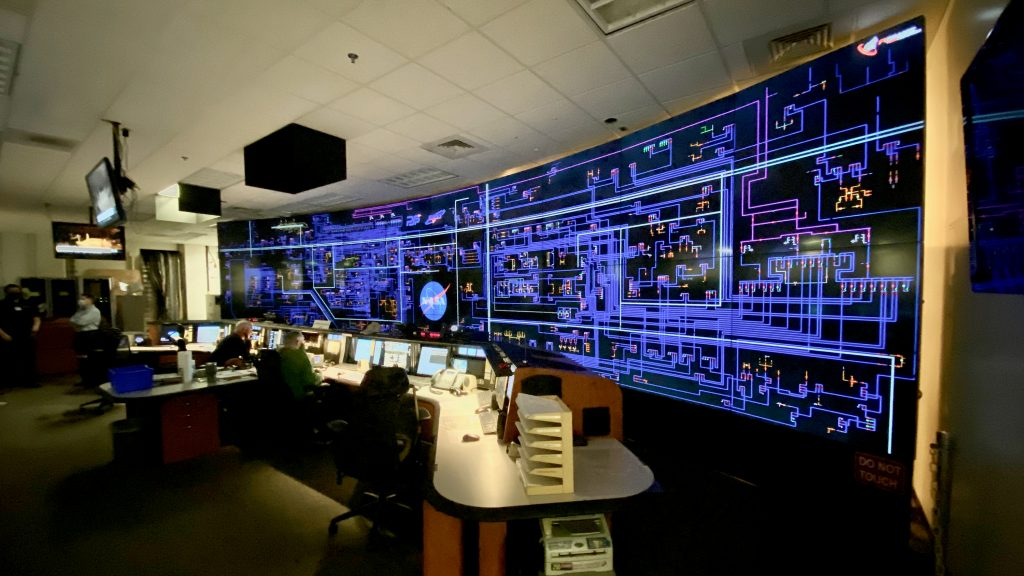 Space Center Video Wall