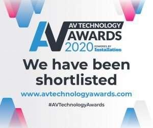 AV Awards 2020 banner