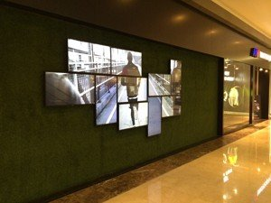 Sports Store Video Wall