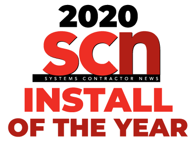 SCN 2020 Install of the Year logo