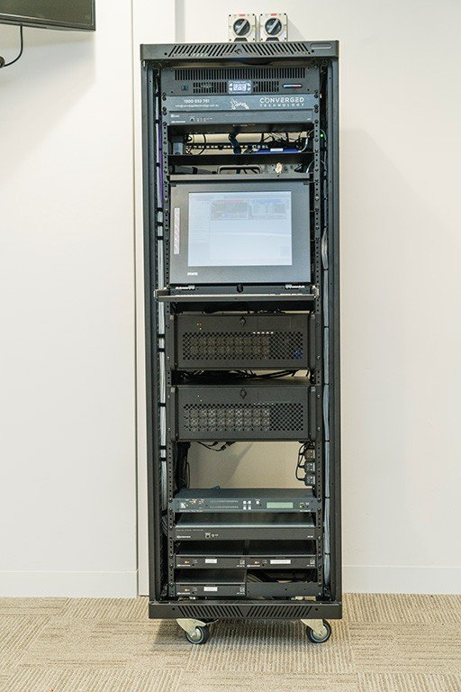 Tabcorp Melbourne Server Room