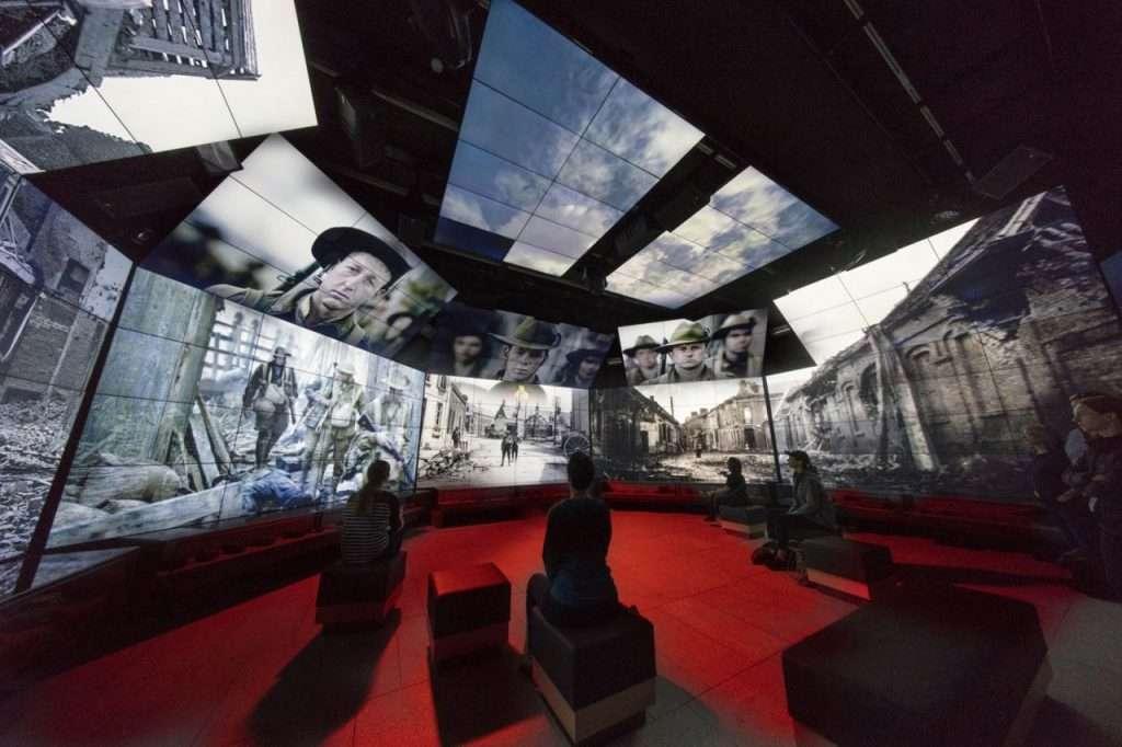 Australian Heritage Museum 360 4K Video Wall