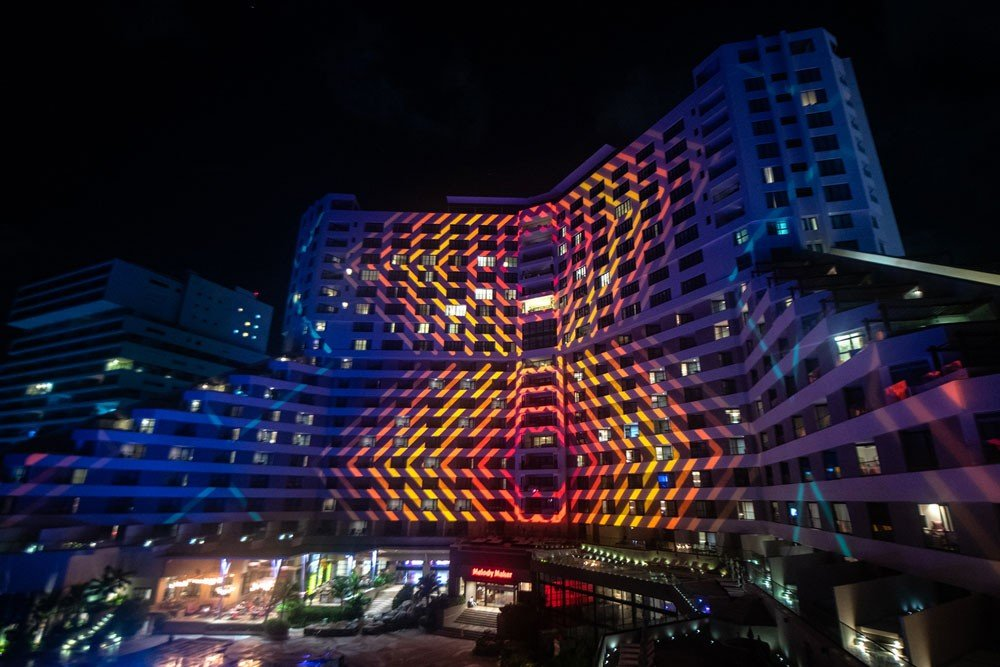 Cancun Hotel Projection