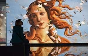 Front Pictures Artmall Renaissance Artwork Video Wall
