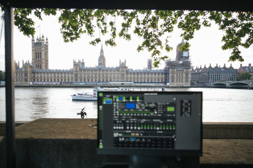 Houses of Parliament NHS Projection Control Center