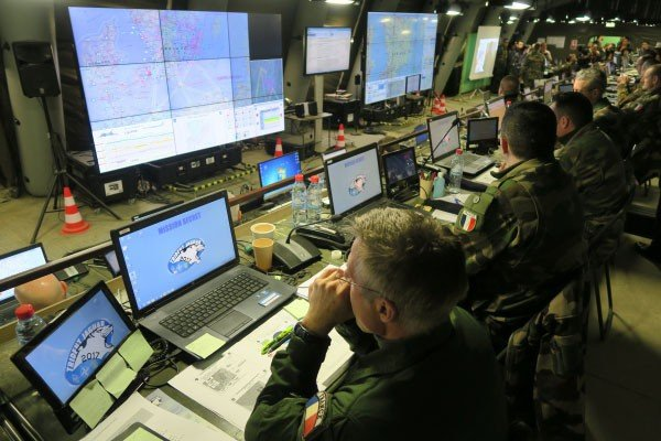 Military Field Communications Control Center