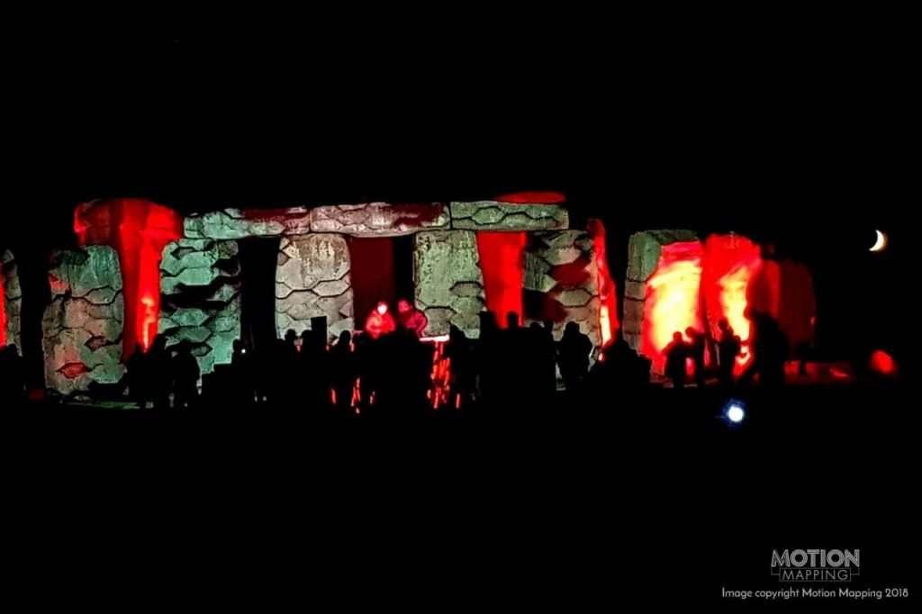 UK Stonehenge Projection