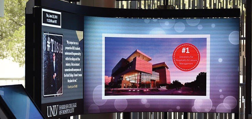 University of Las Vegas Media Wall