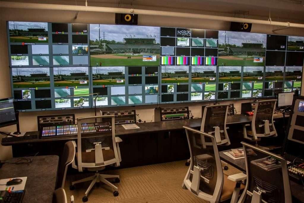 University of Miami Control Room