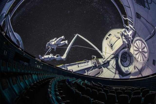 UK Planetarium Seats
