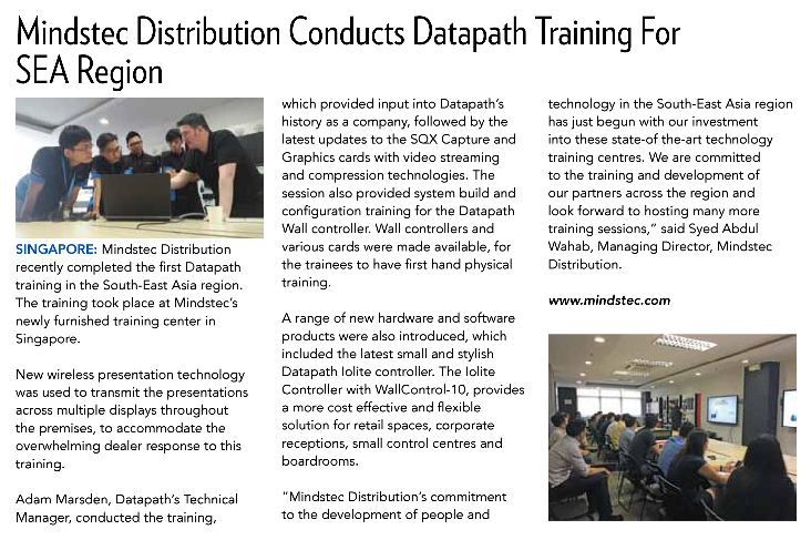 Datapath in the news