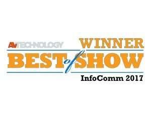 Infocomm 2017 Best of Show banner