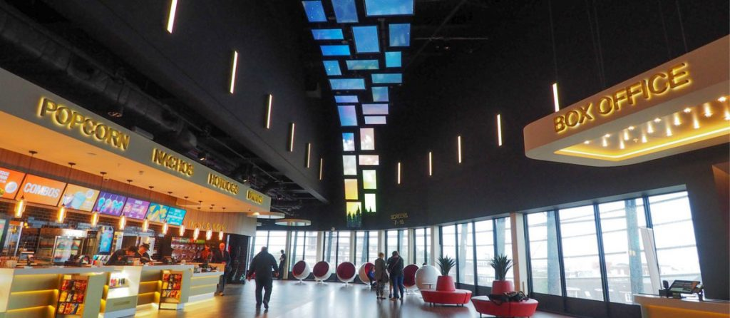 Showcase Cinema Flying Wall