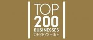 Top 200 Businesses Derbyshire banner