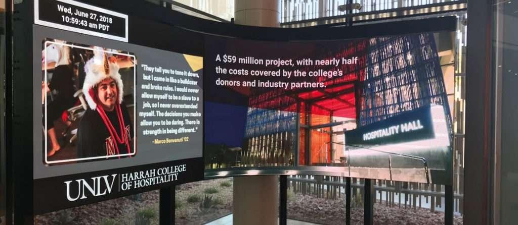 University of Las Vegas 4K Media Wall
